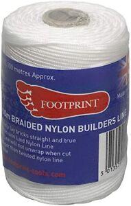 100 METER FOOTPRINT B BRICKLAYERS builders brick block line braided nylon line
