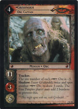Lord of the Rings CCG TCG Helm's Deep - GRISHNAKH - RARE