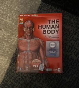 The Human Body A Visual Approach to Knowledge DVD-ROM Windows & Mac Works w/iPod