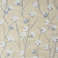 Superfresco Ochre Cotton Flower Floral Wallpaper New X1 Roll Batch 1