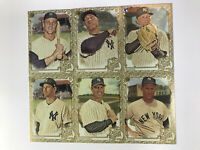 2019 Topps Allen & Ginter Yankees Gold Border Hot Box Lot (6) SPs Judge Maris