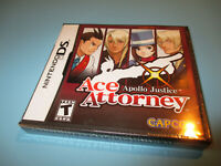 Apollo Justice: Ace Attorney (Nintendo DS) Lite DSi XL 3DS NEW & Sealed