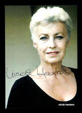 Nicole Heesters Autogrammkarte Original Signiert # BC 74109