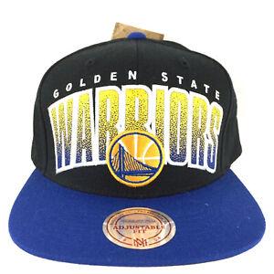 Golden State Warriors Cap Mitchell and Ness Double Bonus Snapback Basketball Hat