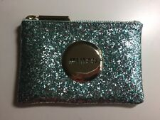 Mimco Small Pouch Glitter Mint