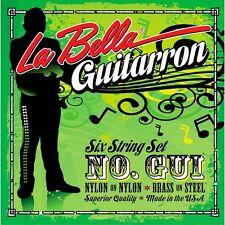 LA BELLA  GUI GUITARRON 6 STRING SET GUITARRON GUITAR STRINGS