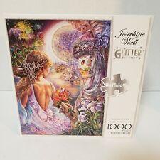 Buffalo Games Josephine Wall Glitter 'Mask Of Love' 1000 Piece Jigsaw Puzzle New