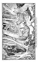 Libro De Hadas Andrew Lang carmesí 130 imagen 0001 A4 Foto impresión