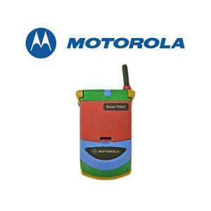 TELEFONO CELLULARE MOTOROLA STARTAC 338 MULTICOLOR GSM 1996 USATO-