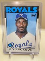 1986 TOPPS TRADED BO JACKSON ROOKIE RC #50T ROYALS NM MT Nice Card