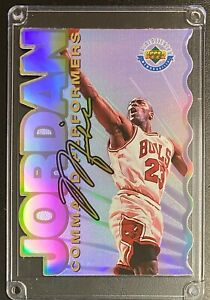 1996 Michael Jordan Upper Deck Command Performers Authentic Memorabilia /5000