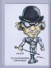 ALEX ** CLOCKWORK ORANGE ** TRADING CARD ART SIGNED by RAK ** NEAR MINT