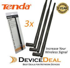 Tenda Q2407 7dBi High-gain Omni-directional Antenna for wireless Router (3 Pack)