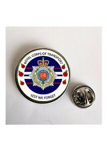 Royal Corps of Transport Lest We Forget lapel pin badge / Key Ring/Fridge Magnet