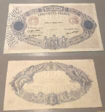 500 Francs Bleu et Rose Type 1888 – 9/10/1930 E.1407 TTB