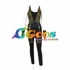 Free Ship Cosplay Costume Resident Evil 6: The Final Chapter Alice Movie Game