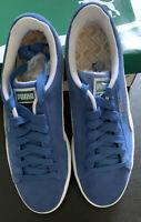Puma Suede Classic+ Men's Shoes Olympian Blue-White 352634-64