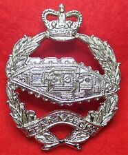 Royal Tank Corps Anodised Cap Badge QC  with Lugs Post 1953