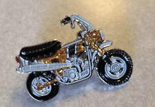 Honda CT70 Metal Flaked Enamel Pin Topaz Minibike DAX Vintage Motorcycle