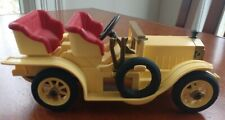 PLAYMOBIL VINTAGE VICTORIAN 5620 ANTIQUE YELLOW TOURING CAR