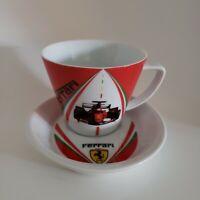FERRARI F1 World Champions Cup & Saucer Set EUC