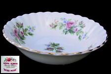 Royal Albert MOSS ROSE 13cm Sweet / Dessert Bowl 1st Eng c1956