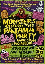 Monsters Crash the Pajama Party: Spook Show Spectacular (2007, REGION 1 DVD New)