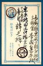 JAPAN - GIAPPONE - Intero post. -  Cartolina postale. Antiche cartoline. R601