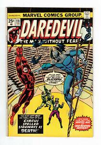 Daredevil Vol.1 #118 - FN/VF - 1975 - Marvel Comic VO US