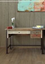 """Home Office desk antique and rustic style 48"""" x 22"""""""