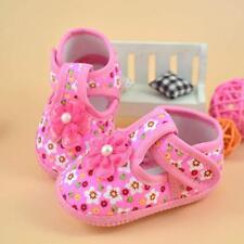 @@Newborn 18 Months Baby Girls Kids Crib Shoes Infant  Soft Sole Toddler 11