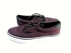 Vans Men's Era 59 Low Top Slip On Cavas Sneakers Size 8.5 M VN-0A3458LX2 New