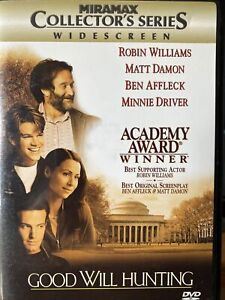 Good Will Hunting (DVD, 1998, Collectors Series)