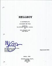 MIKE MIGNOLA SIGNED AUTOGRAPHED HELLBOY FULL MOVIE SCRIPT - VERY RARE