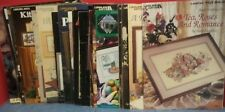 Lot of 25 Counted Cross Stitch Patterns Leaflets Craft Booklets 4 Paula Vaughan