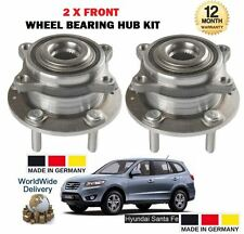 FOR HYUNDAI SANTA FE 2.2DT CRDi 2005--  NEW 2x FRONT WHEEL BEARING HUB KIT