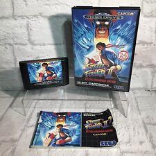 Street Fighter 2 Championship Edition MegaDrive SEGA COMPLETE PAL Tested Working