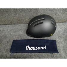 Thousand 7050301204 Racer Black Bike Helmet Large