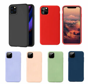 Case For Apple iPhone 11 Pro Max XS Max XR X 8 7 6 6s Plus TPU Silicone Cover