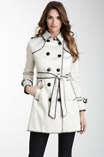 Women's COCO & TASHI Button Down Jacket Trench Coat Large NEW WITH TAG        C2