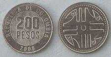 Kolumbien / Colombia 200 Pesos 2004-2008 p287 unz.