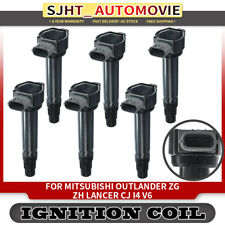 Top 6x Ignition Coils Pack for Mitsubishi Outlander ZG ZH I42.0L 2.4L 2006-2012