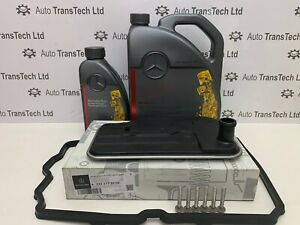 genuine mercedes benz cls320 722.9 7 speed automatic gearbox oil 6L filter 7G