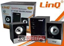 HOME THEATRE  CASSE KIT MULTIMEDIALE 2.1 20W SYSTEM PC TVLINQ LI-Q42