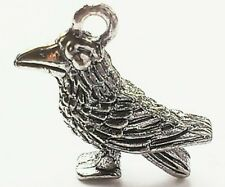 Crow Charm Pack of 3, 14x18mm