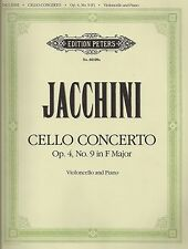 Jacchini - Cello Concerto Op. 4, No. 9 in F Major for Violoncello and Piano