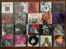 Jimi Hendrix Collection Lot of 80 RARE CD's, imports, rare live recordings, etc