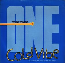 """THIRD WORLD one cold vibe/feel a little better WIP 6485 uk island 7"""" PS EX/EX"""