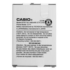 🔋 CASIO OEM AUTHENTIC BTR771B Battery for CASIO C771, GzOne Commando C771