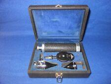 Vintage Friston - Gowllands Otoscope / Ophthalmoscope  Medisco Combination Set